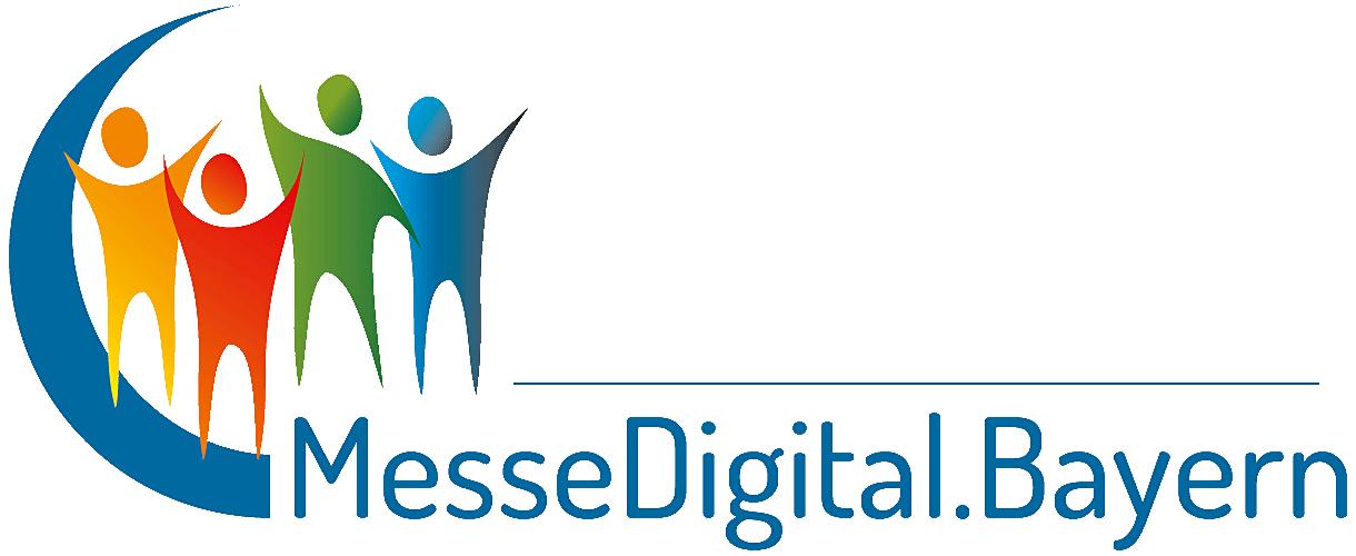 Das Logo von MesseDigital.Bayern